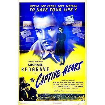 De Captive Heart Britse Poster Michael Redgrave Rachel Kempson 1946 Movie Poster Masterprint