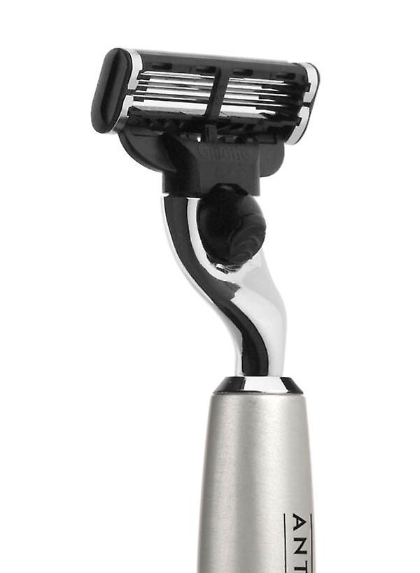 Silver Barberia Shaving Mach3 Metal Antica Razor qpzSUGMV