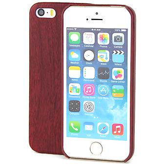 Apple iPhone 7 plus TPU Mobile Shell wood optics protection case mahogany cover