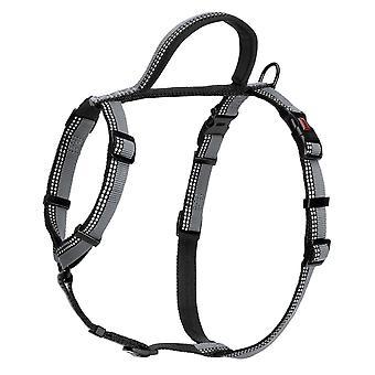 Halti Nylon Walking Harness Black Medium 56-76cm