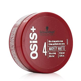 Schwarzkopf Osis+ Mighty Matte Ultra Strong Matte Cream (Ultra Strong) 85ml/2.8oz