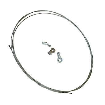 Inner Throttle Clutch Cable With Wire Stop Repair Kit For Many Lawnmowers