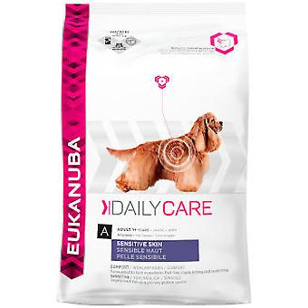 Eukanuba Daily Care Sensitive Skin Adult (Dogs , Dog Food , Dry Food)
