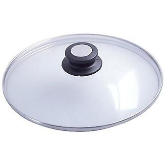 De Buyer CHOC EXTREME APPETY glass lid with bakelite stainless steel knob