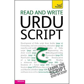 Read and Write Urdu Script: Teach Yourself (Paperback) by Delacy Richard
