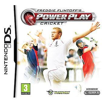Freddie Flintoffs Power Play Cricket Nintendo DS Game