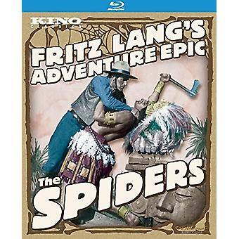Spiders(1919-1920) [Blu-ray] USA importerer
