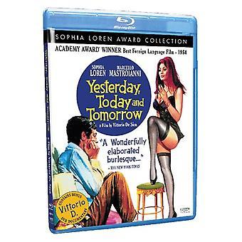 Yesterday Today & Tomorrow [BLU-RAY] USA import
