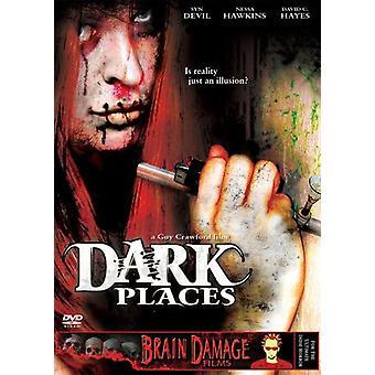 Mørke steder [DVD] USA importerer