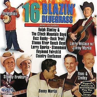 16 Blazin Bluegrass - 16 Blazin Bluegrass [CD] USA import