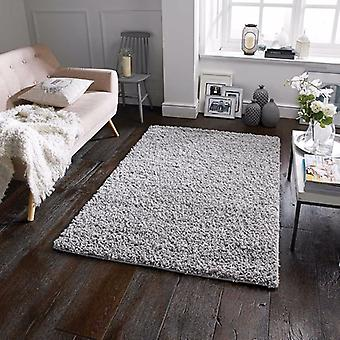 Tapis Plain Elsa gris Rectangle tapis Plain/presque
