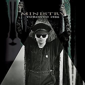 Ministry - Toronto 1986 [CD] USA import