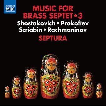 Prokofiev / Septura - Music for Brass Septet 3 [CD] USA import