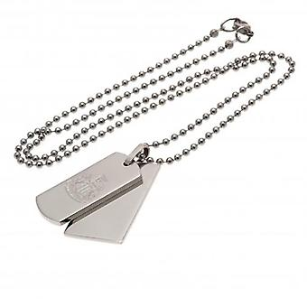 Newcastle United Double Dog Tag & Chain