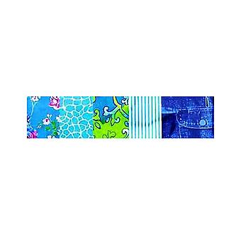 5 Blues Coordinated Decopatch Paper Sheets | Decoupage Crafts