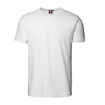 ID Unisex Interlock Fitted Short Sleeve Round Neck T-Shirt