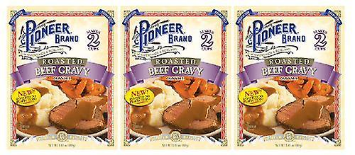 Pioneer Brand Roasted Beef Gravy Mix 3 Packet Pack