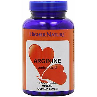 Higher Nature Arginine, 120 veg caps