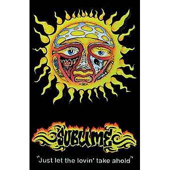 Sublime Sun Blacklight Poster Poster Print