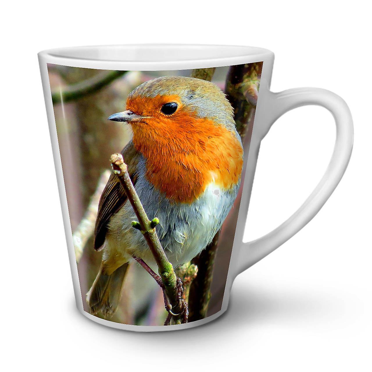 Mug Thé Blanc Latte Mignon Nature Oiseaux En Nouveau OzWellcoda Céramique Café 12 WD2IHE9
