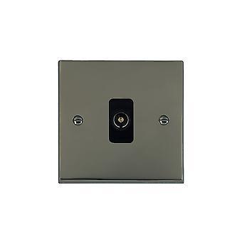Hamilton Litestat Cheriton Victorian Black Nickel 1g Non-Isolated TV 1in/1out BL