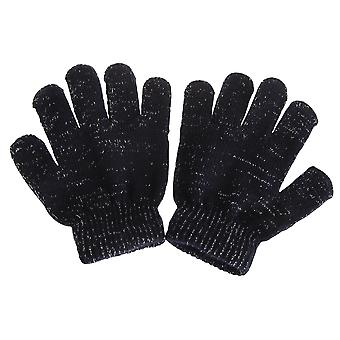 Childrens/Kids Sparkle Winter Gloves