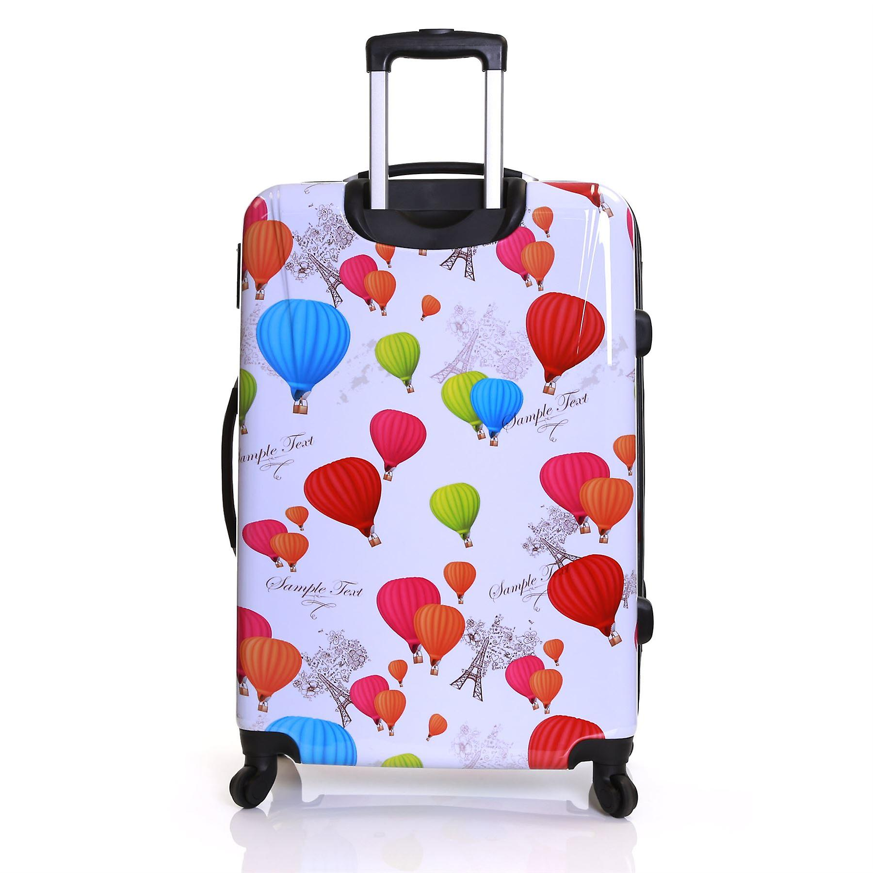 Karabar Dewberry 76 cm Hard Suitcase, Balloons