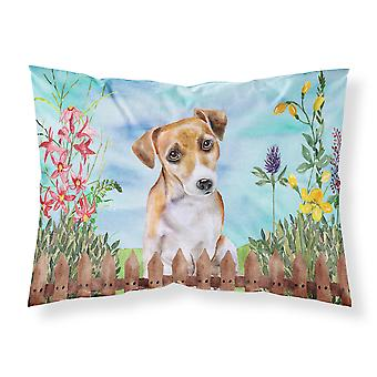 Jack Russell Terrier #2 Spring Fabric Standard Pillowcase