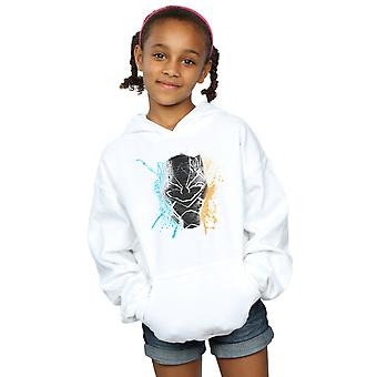 Marvel Girls Black Panther Splash Hoodie