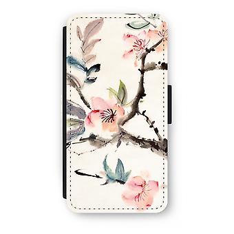 iPhone 8 Plus Flip Case - Japenese blommor