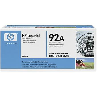 HP Toner cartridge 92A C4092A Original Black 2500 pages