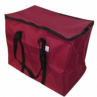 Generatore zip Carry Bag Grande in materiale impermeabile di tela pesante