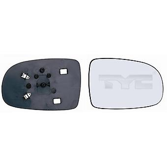 Right Mirror Glass (not heated) & Holder for VAUXHALL TIGRA TwinTop 2004-2006
