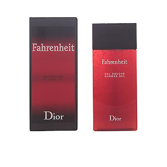 Dior Fahrenheit Shower Gel 200ml Mens New Fragrance Perfume Scent Sealed Boxed