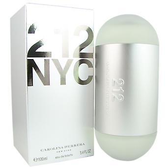 212 Carolina Herrera Women 3.4 oz EDT Spray