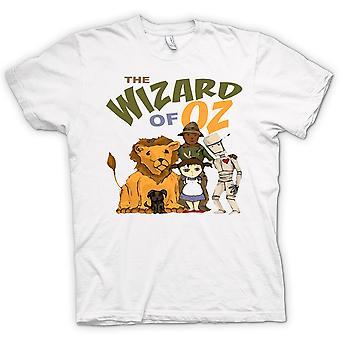 Mens T-shirt - Wizard Of Oz Dorothy Tin Man
