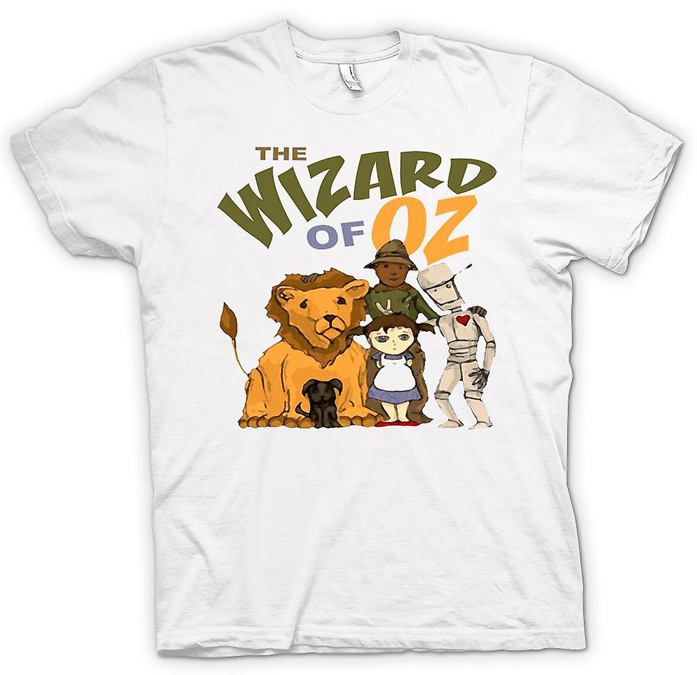 Womens T-shirt - Wizard Of Oz Dorothy Tin Man