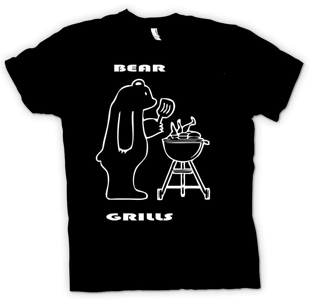 T-shirt homme - ours Grills - Quote
