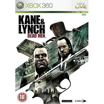 Kane  Lynch Dead Men (Xbox 360)