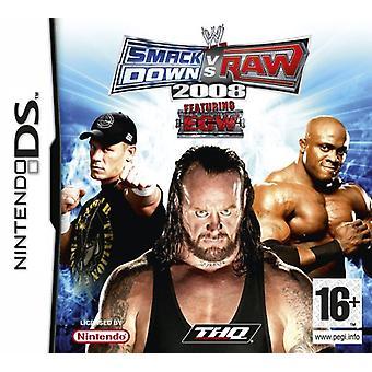 SmackDown Vs rå 2008 (Nintendo DS)