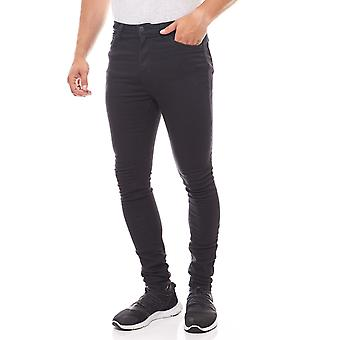 Lee Boyd Super Skinny mens jeans-black in the 5-Pocket-style