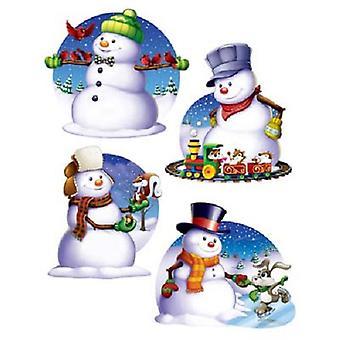 Sneeuwpop knipsels