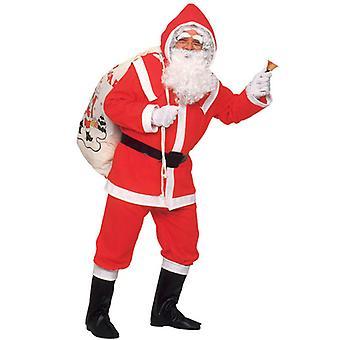 Deluxe Flannel Santa
