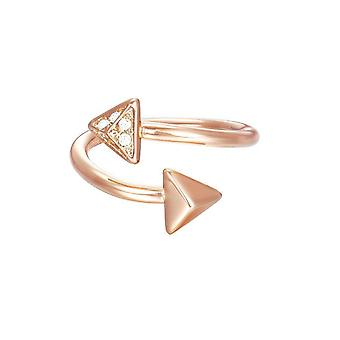 ESPRIT ladies ring brass JW50214 Rosé cubic zirconia ESRG02865C1
