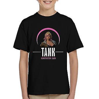 Camiseta tanque Fortnite Constructor clase infantil