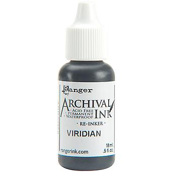 Archival Pad Re-Inker .5oz-Viridian