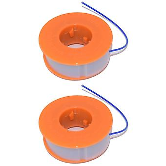 2 x Trimmgerät Trimmer Spule & Linie passt Bosch ART23 Easytrim