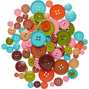 Favorite Findings Big Bag Of Buttons-Etcetera 3.5oz