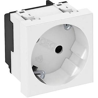 Internal wiring ducts Mains outlet (1x) OBO Bettermann 6120072 1 pc(s) Pure white