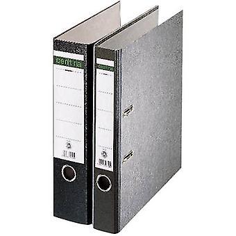 Centra Folder A4 Spine width: 52 mm Black Paste paper 2 brackets 221105